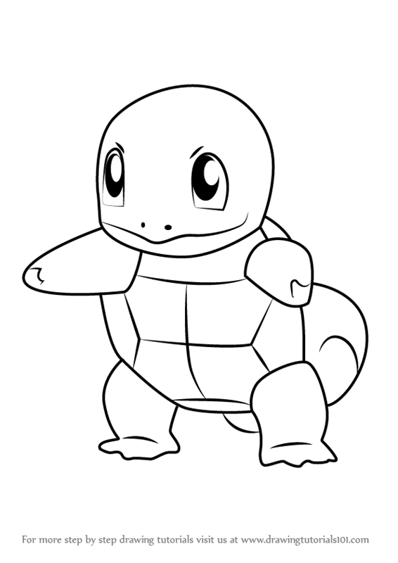 Draw Squirtle 89