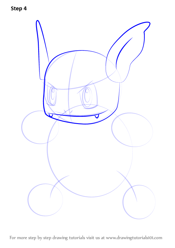 Learn How to Draw Wartortle from Pokemon GO (Pokemon GO ...
