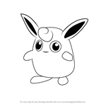 How to Draw Wigglytuff from Pokemon GO