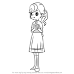 How to Draw Flora Reinhold from Professor Layton