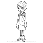 How to Draw Katia Anderson from Professor Layton