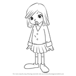 How to Draw Lucy from Professor Layton