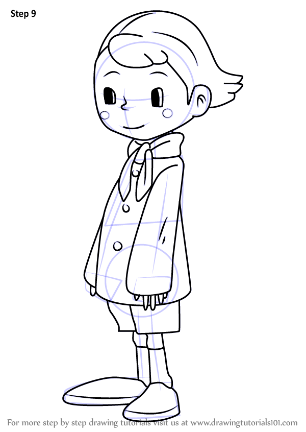 professor layton coloring pages - photo#21