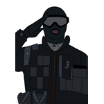 How to Draw Recruit from Rainbow Six Siege
