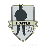 How to Draw Trapper from Rainbow Six Siege