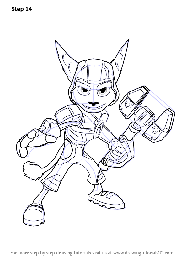 Learn How to Draw Ratchet from