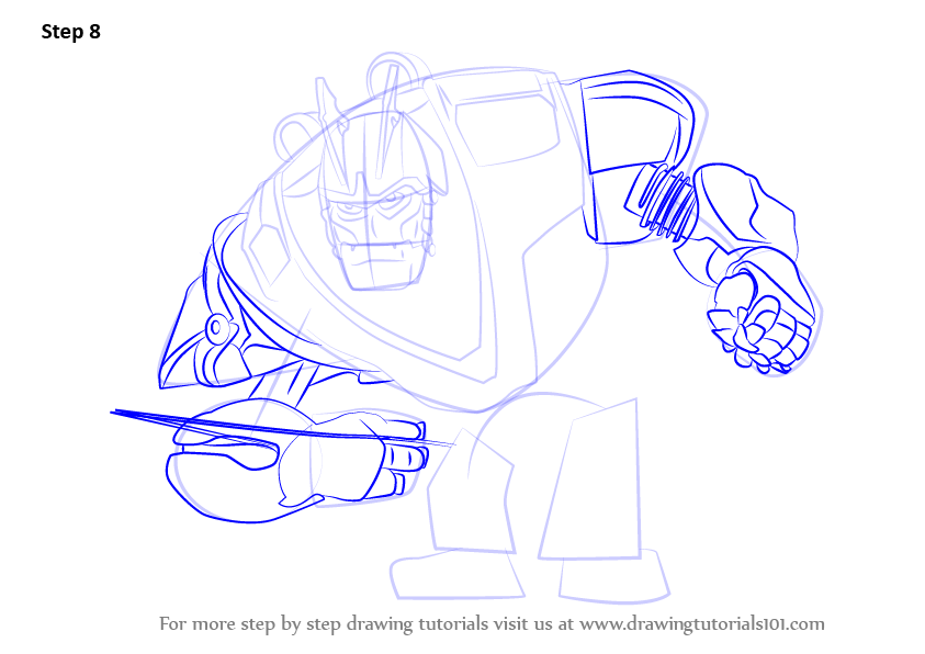 how to draw ratchet from ratchet and clank