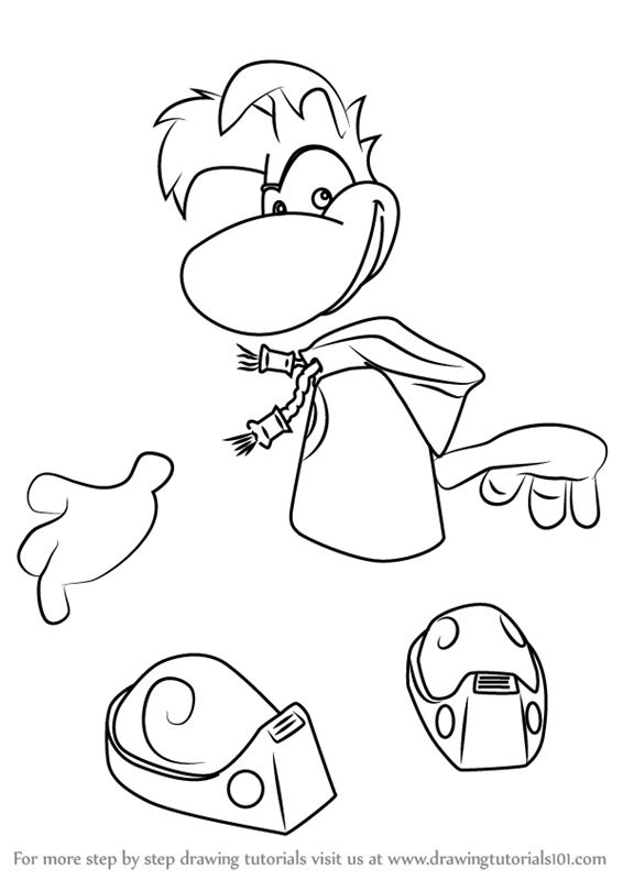 Learn How to Draw Rayman from Rayman