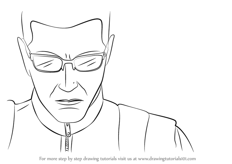 resident evil 5 jill valentine coloring pages | Learn How to Draw Albert Wesker from Resident Evil ...