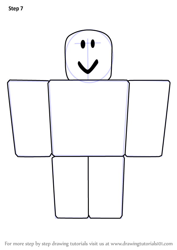 Learn How to Draw Noob from Roblox