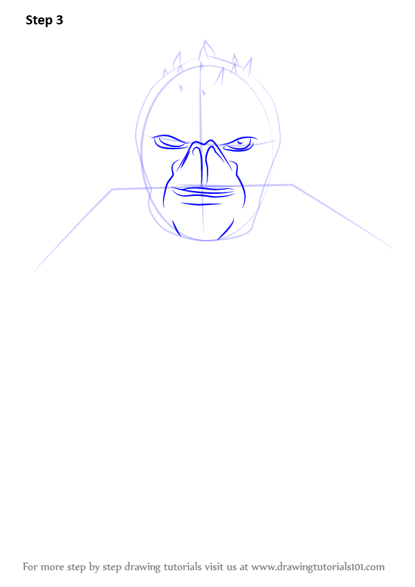 Learn How To Draw Zinyak From Saints Row Saints Row Step