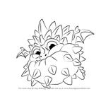 How to Draw Pop Thorn from Skylanders