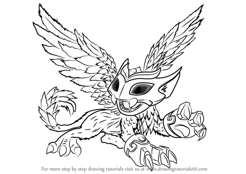 Skylanders Swap Force Fire Hot Dog Series2 Coloring Page | H & M Coloring  Pages | 566x800