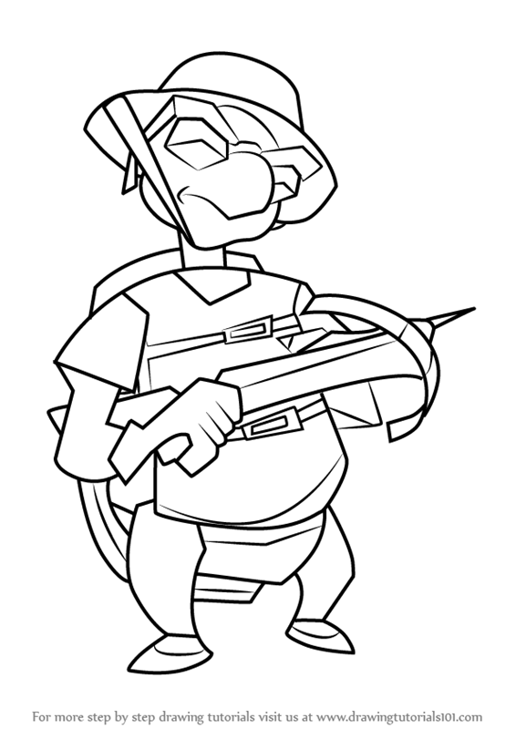 Learn How To Draw Bentley From Sly Cooper Sly Cooper