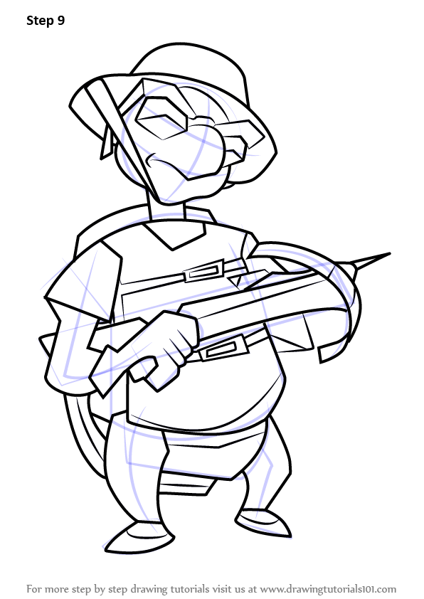 sly cooper coloring pages - learn how to draw bentley from sly cooper sly cooper