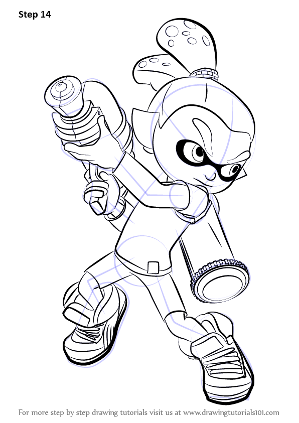 Learn How to Draw Inkling Male