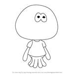How to Draw Jellyfish from Splatoon