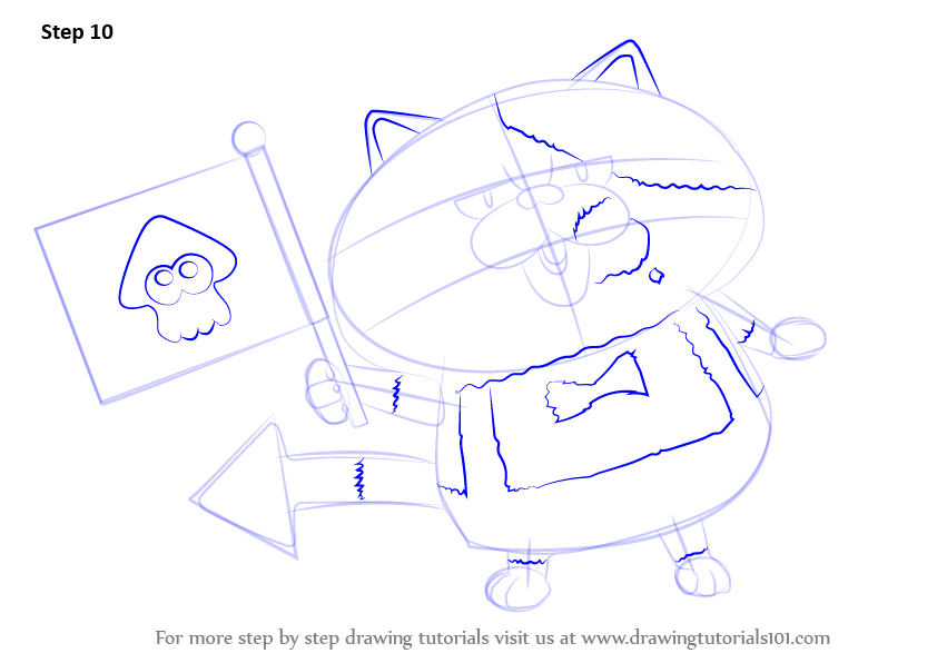 how to draw a splatoon octaling