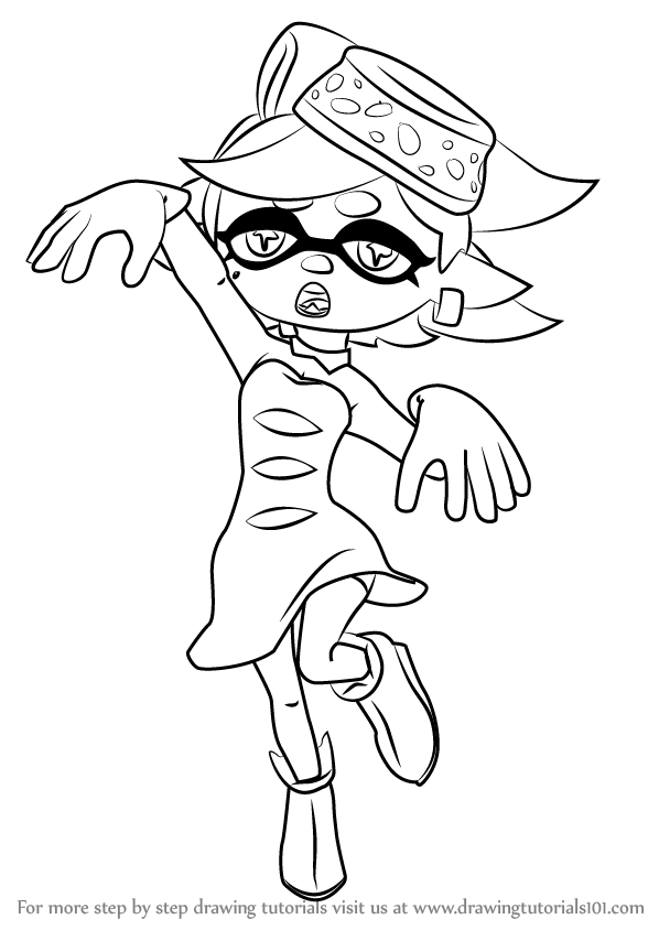 Step by Step How to Draw Marie