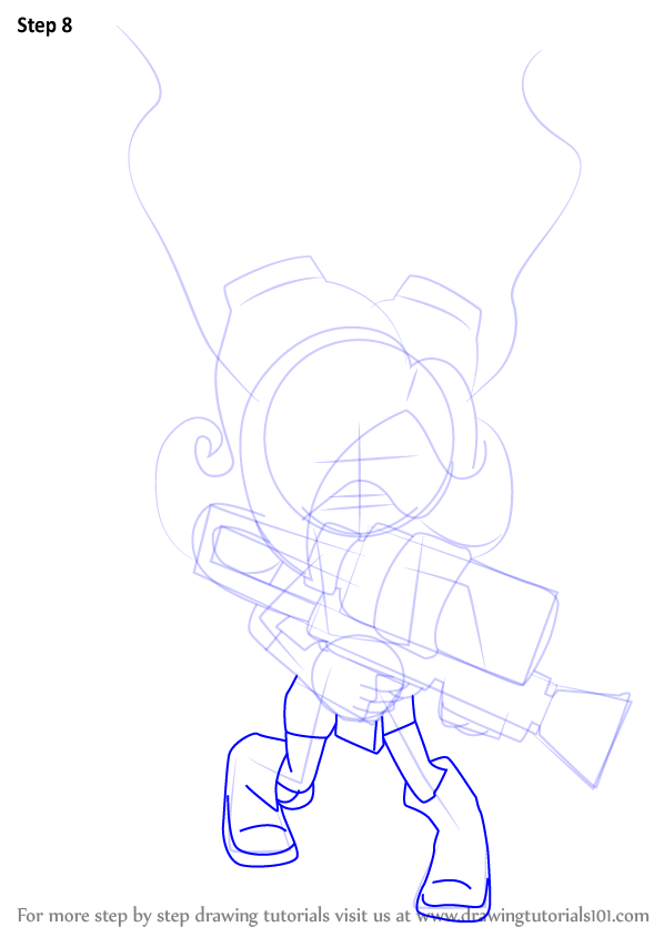 Splatoon Octoling Coloring Pages Coloring Pages