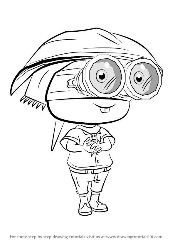 Learn How To Draw Sheldon From Splatoon Splatoon Step By
