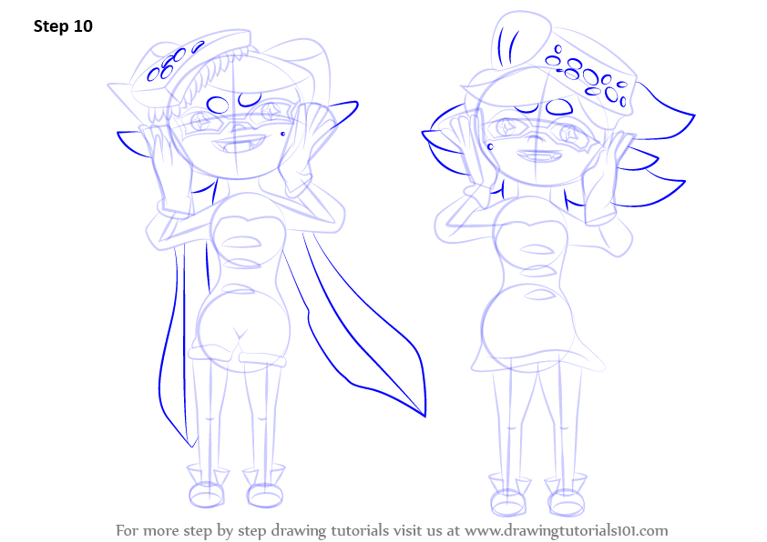 how to draw the thea sisters step by step