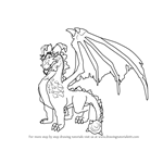 How to Draw Terrador from Spyro