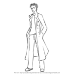 How to Draw Rintarou Okabe from Steins Gate