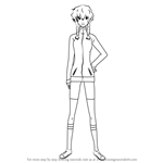 How to Draw Suzuha Amane from Steins Gate