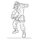 How to Draw Alex from Street Fighter