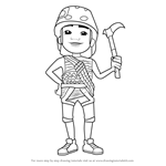 How to Draw Carlos from Subway Surfers