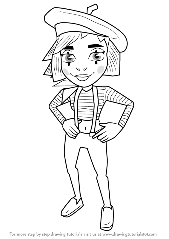 Learn How to Draw Coco from Subway Surfers Subway Surfers