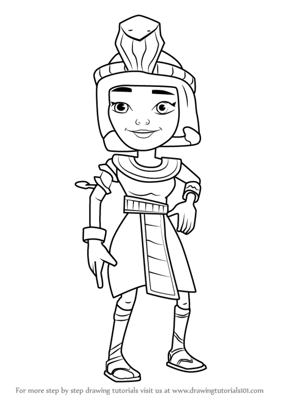 subway surfer coloring pages - photo#26