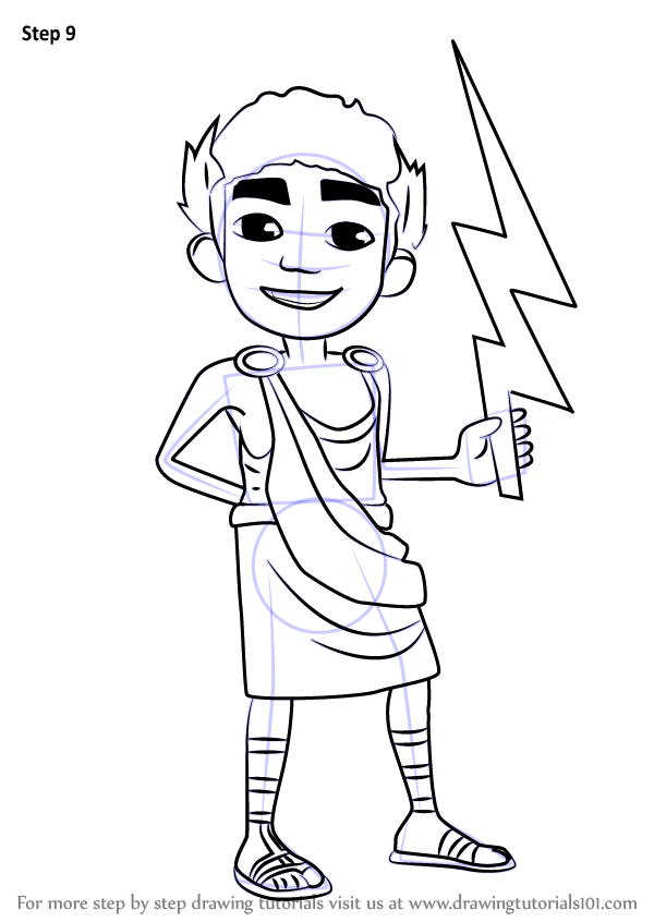 Learn How To Draw Nikos From Subway Surfers Subway