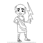 How to Draw Nikos from Subway Surfers