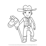 How to Draw Wayne from Subway Surfers