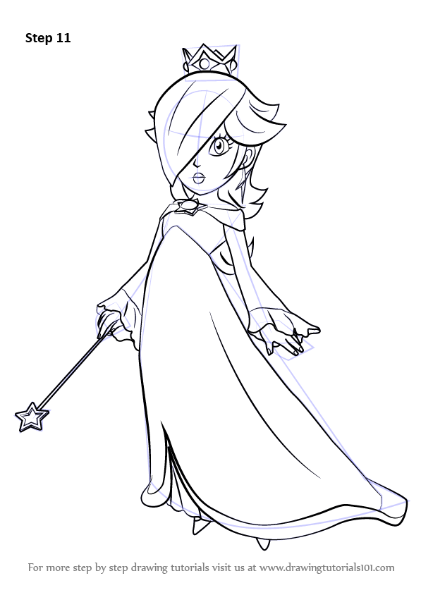 Learn How to Draw Rosalina from