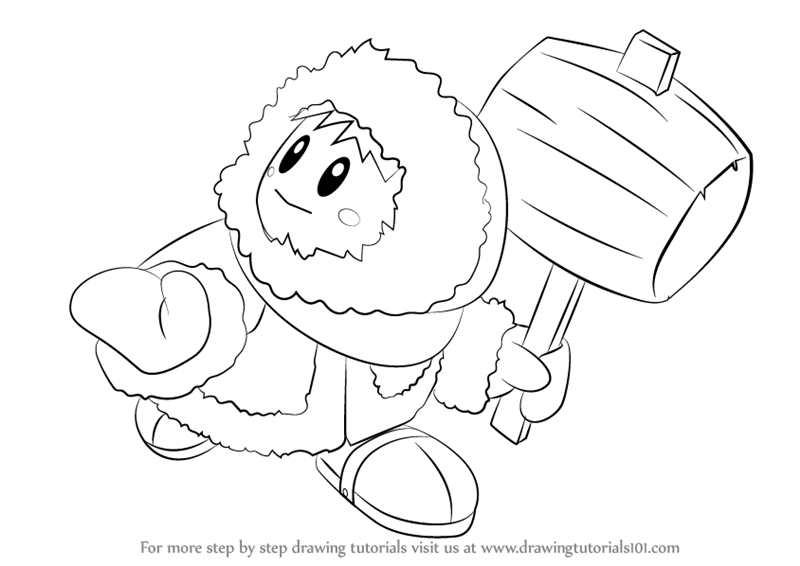 ice mario coloring pages - photo#32