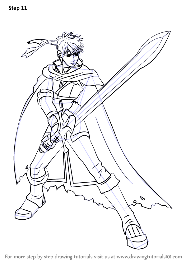 Learn How to Draw Ike from Super