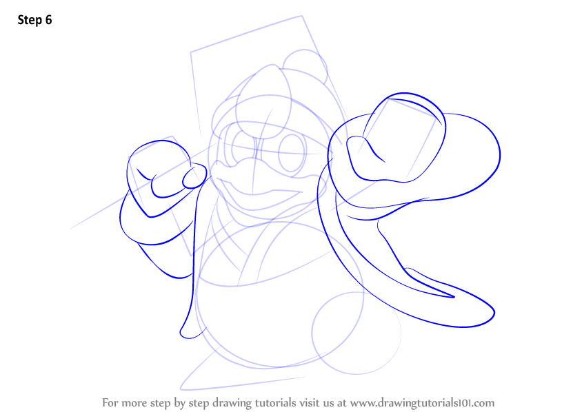 Step By Step How To Draw King Dedede From Super Smash Bros