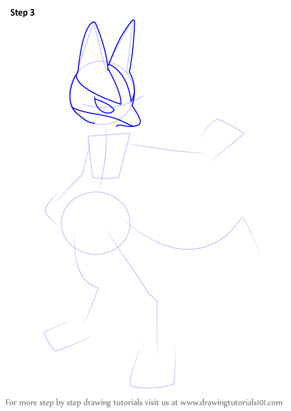 Learn How to Draw Lucario from Super Smash Bros (Super ...