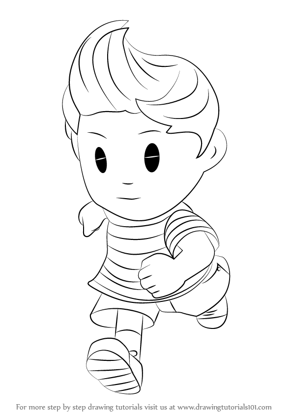 lucas bojanowski coloring pages - photo#12