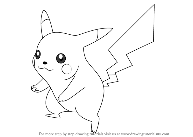 Learn How to Draw Pikachu from Super Smash Bros (Super ...