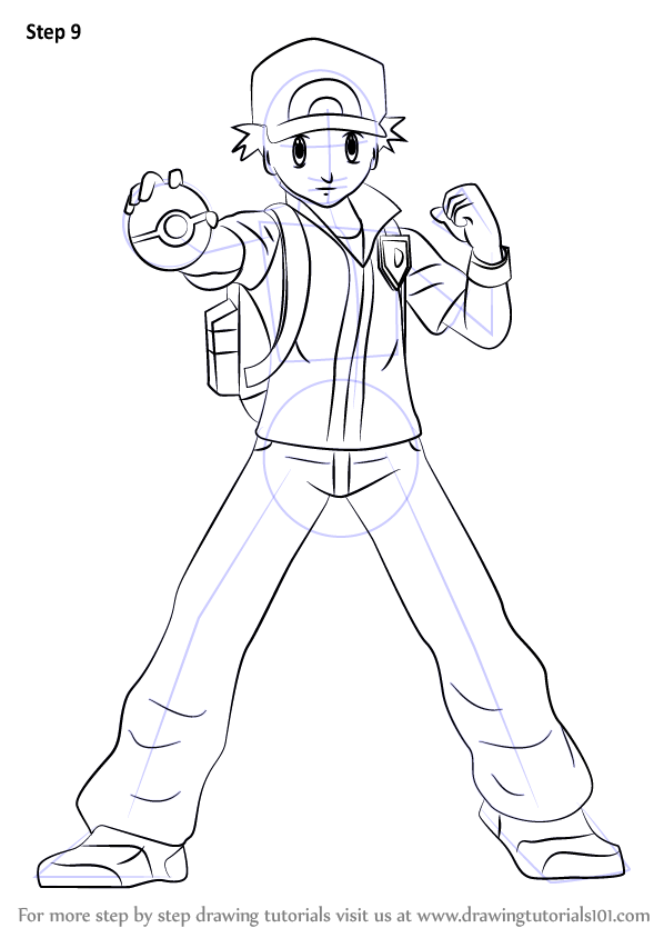 Learn How To Draw Pok 233 Mon Trainer From Super Smash Bros