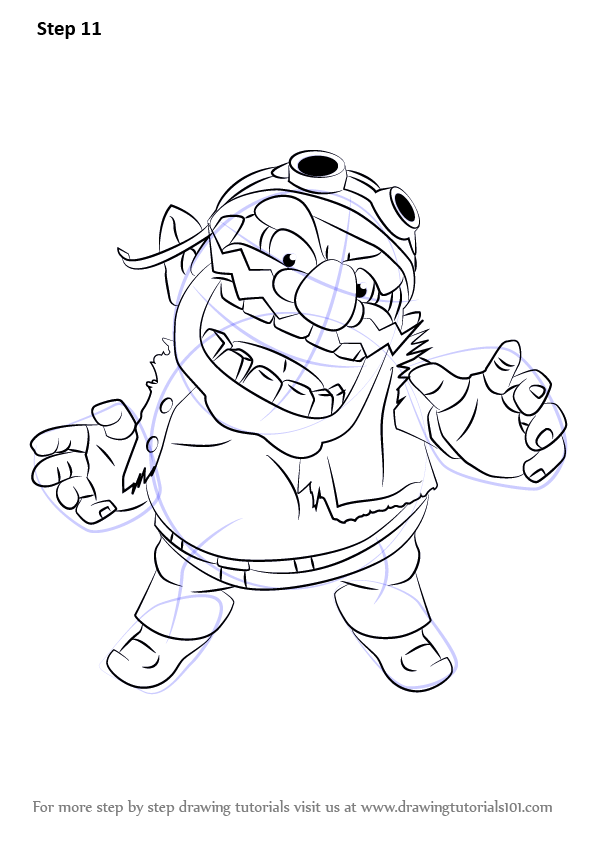 Learn How to Draw Wario from Super Smash Bros (Super Smash ...
