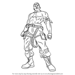 How to Draw Bryan Fury from Tekken