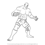 How to Draw Craig Marduk from Tekken