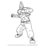 How to Draw Jack from Tekken
