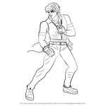 How to Draw Lee Chaolan from Tekken