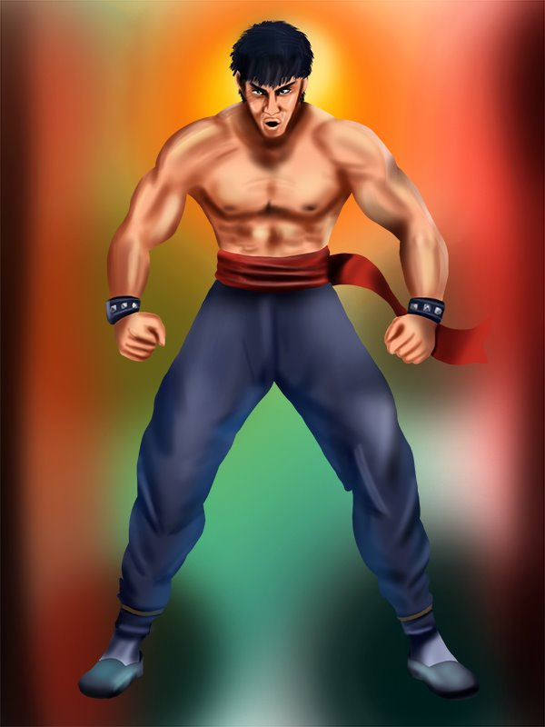 Learn How To Draw Marshall Law From Tekken Tekken Step By Step Drawing Tutorials